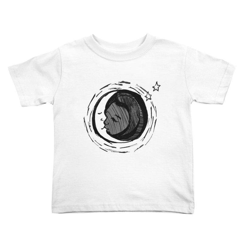 Dark Side of the Moon Kids Toddler T-Shirt by jackrabbithollow's Artist Shop