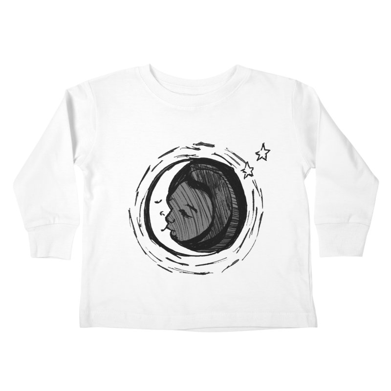Dark Side of the Moon Kids Toddler Longsleeve T-Shirt by jackrabbithollow's Artist Shop