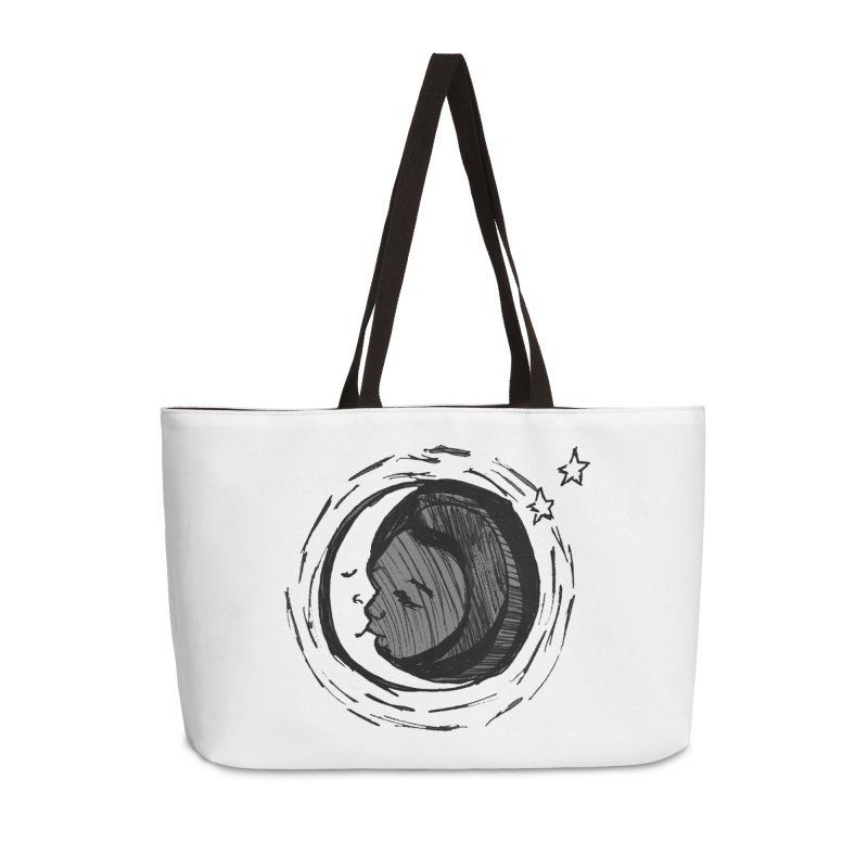 Dark Side of the Moon Accessories Weekender Bag Bag by jackrabbithollow's Artist Shop