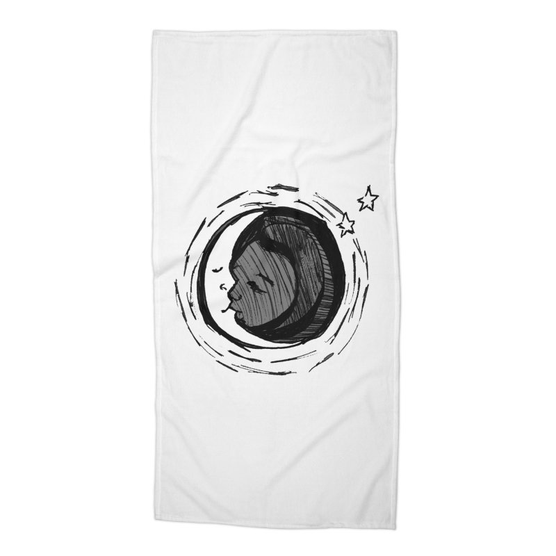 Dark Side of the Moon Accessories Beach Towel by jackrabbithollow's Artist Shop