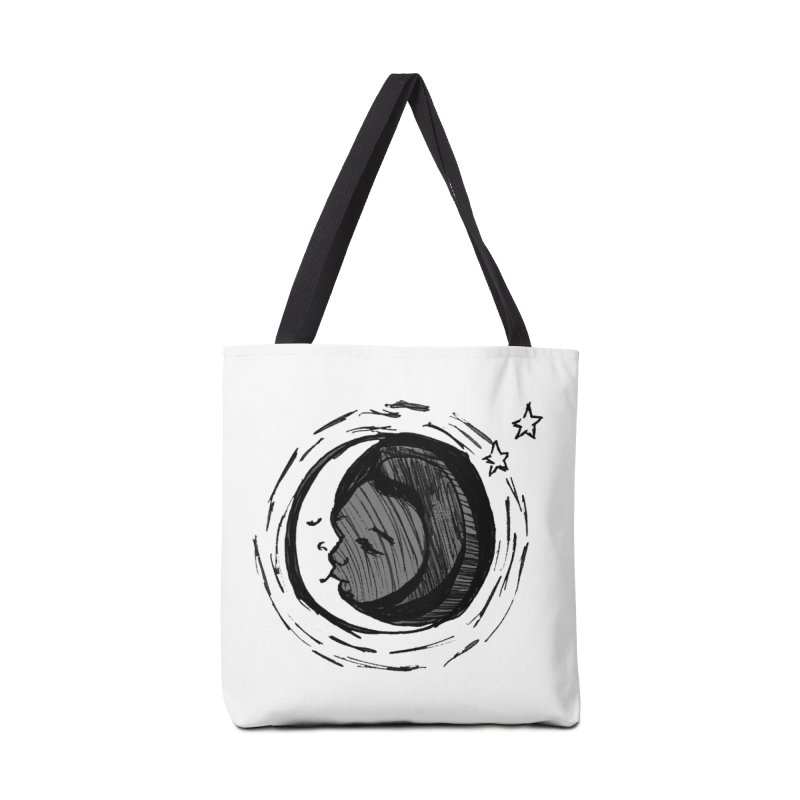 Dark Side of the Moon Accessories Tote Bag Bag by jackrabbithollow's Artist Shop