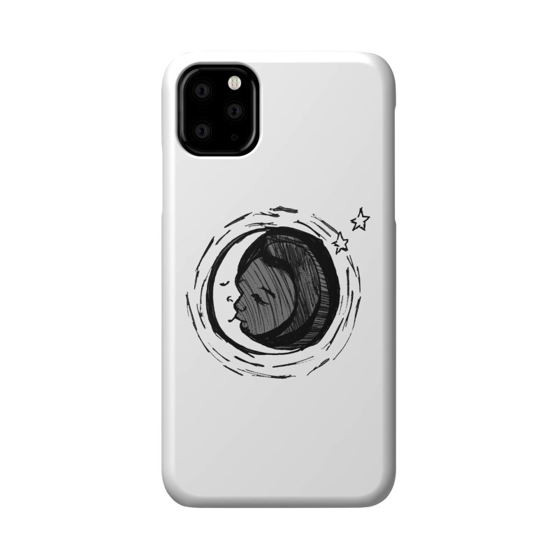 Dark Side of the Moon Accessories Phone Case by jackrabbithollow's Artist Shop