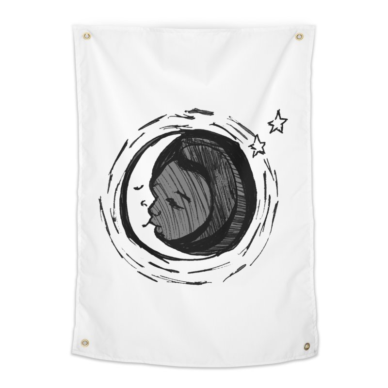 Dark Side of the Moon Home Tapestry by jackrabbithollow's Artist Shop