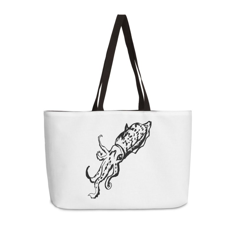 Solo Squid Accessories Weekender Bag Bag by jackrabbithollow's Artist Shop