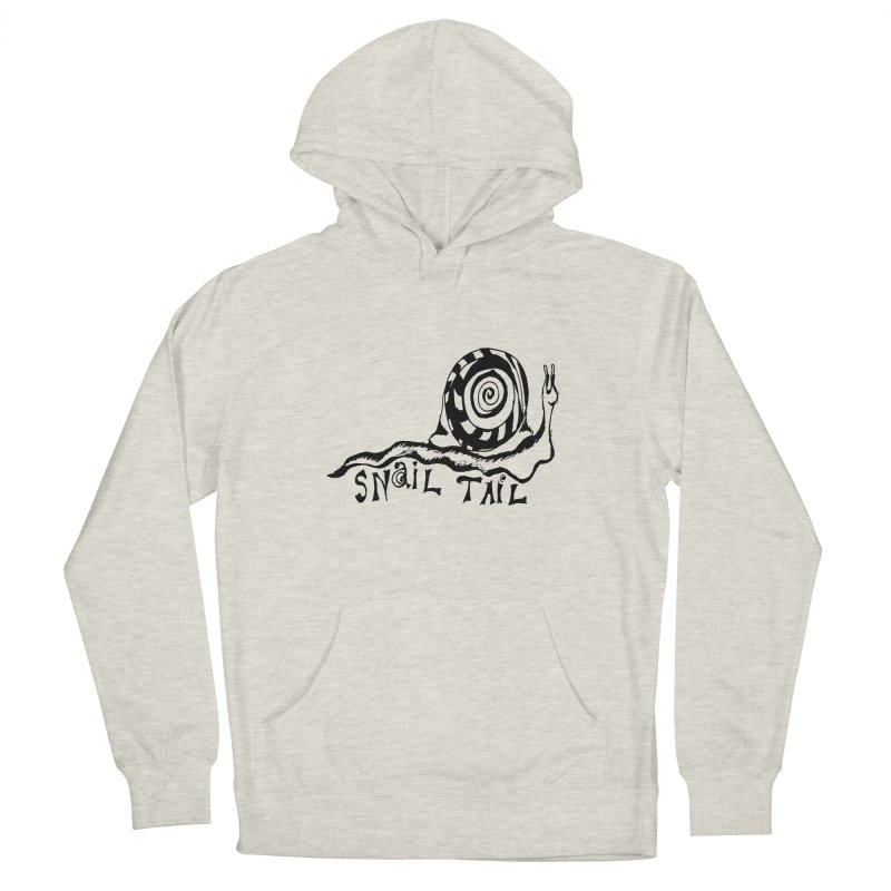SNAIL TAIL Men's Pullover Hoody by jackrabbithollow's Artist Shop