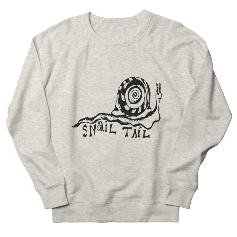 SNAIL TAIL Men's French Terry Sweatshirt by jackrabbithollow's Artist Shop