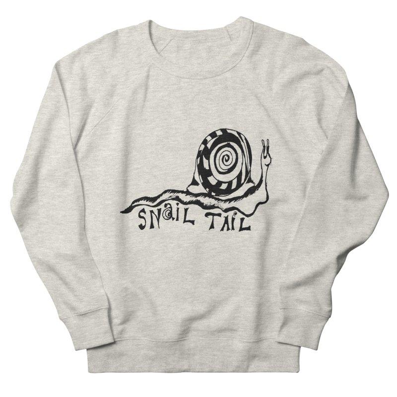 SNAIL TAIL Men's Sweatshirt by jackrabbithollow's Artist Shop