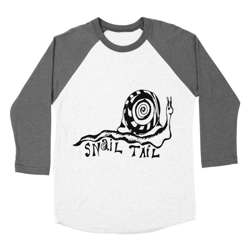 SNAIL TAIL Men's Baseball Triblend Longsleeve T-Shirt by jackrabbithollow's Artist Shop