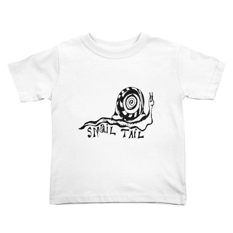 SNAIL TAIL Kids Toddler T-Shirt by jackrabbithollow's Artist Shop