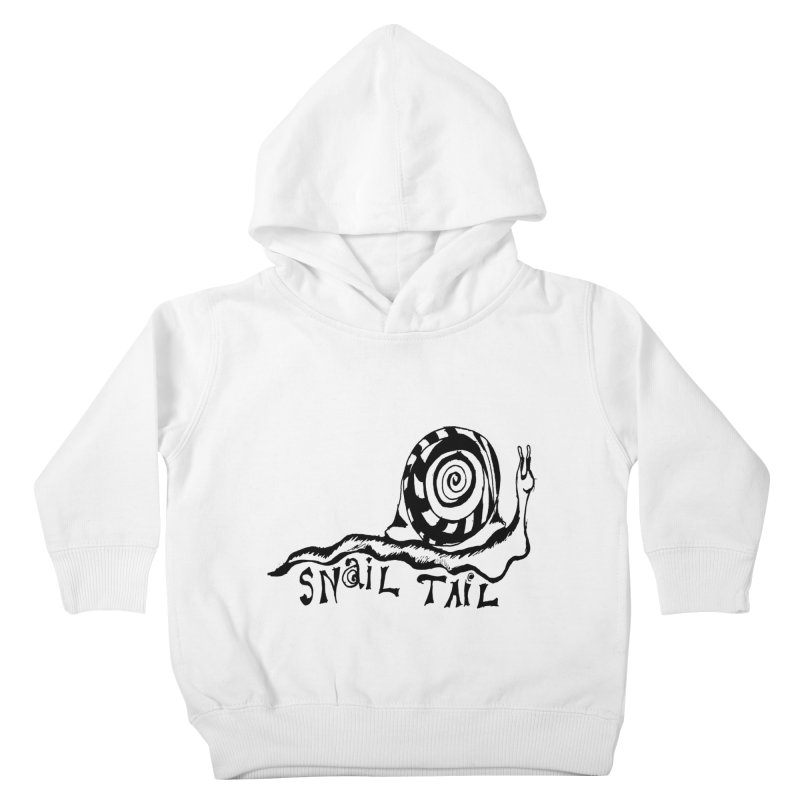 SNAIL TAIL Kids Toddler Pullover Hoody by jackrabbithollow's Artist Shop