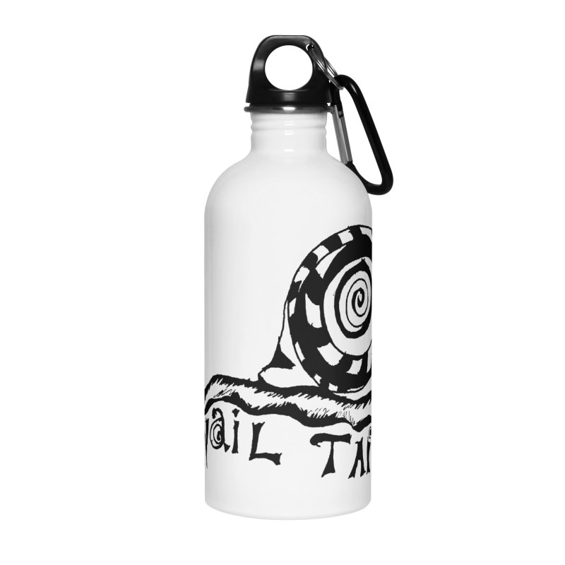 SNAIL TAIL Accessories Water Bottle by jackrabbithollow's Artist Shop
