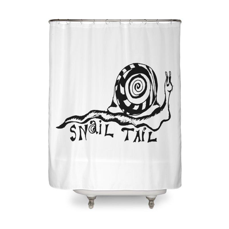 SNAIL TAIL Home Shower Curtain by jackrabbithollow's Artist Shop