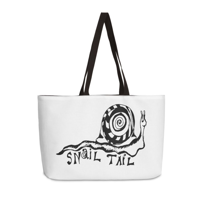 SNAIL TAIL Accessories Weekender Bag Bag by jackrabbithollow's Artist Shop