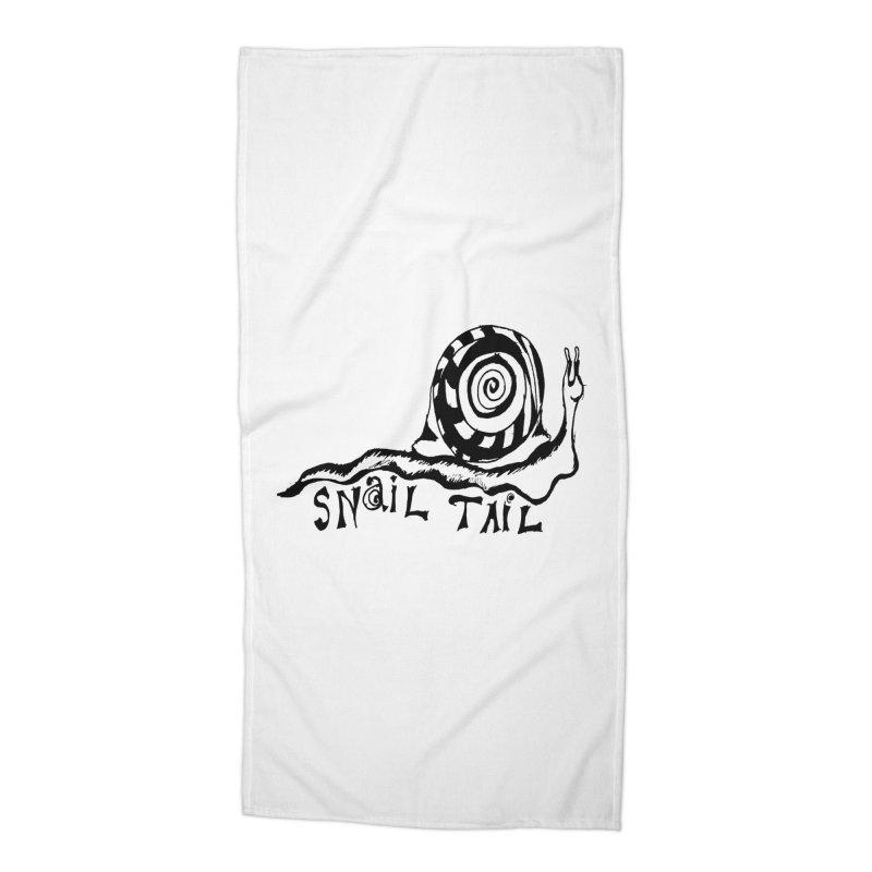 SNAIL TAIL Accessories Beach Towel by jackrabbithollow's Artist Shop