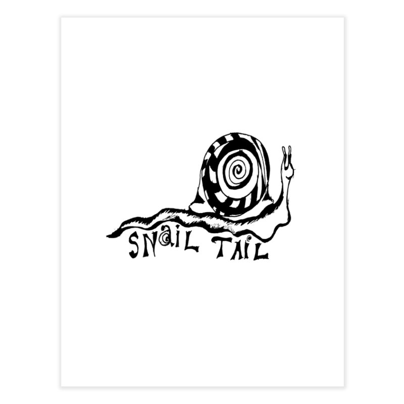 SNAIL TAIL Home Fine Art Print by jackrabbithollow's Artist Shop