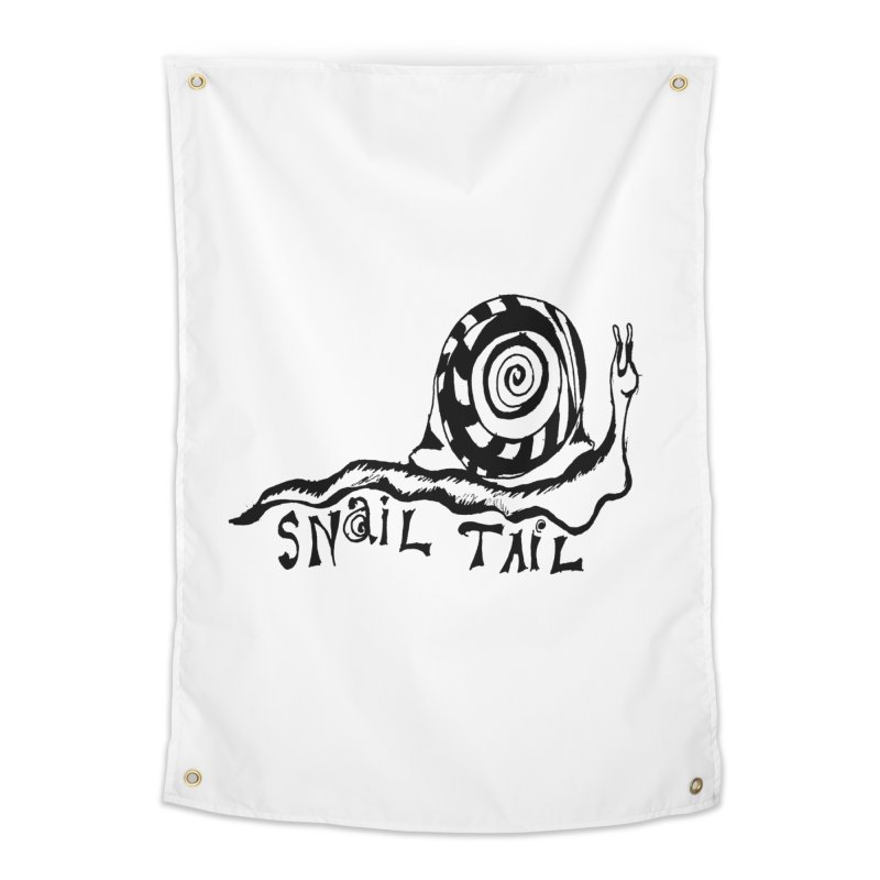 SNAIL TAIL Home Tapestry by jackrabbithollow's Artist Shop