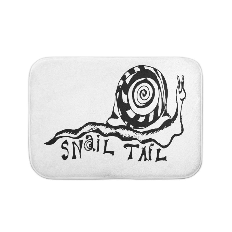 SNAIL TAIL Home Bath Mat by jackrabbithollow's Artist Shop