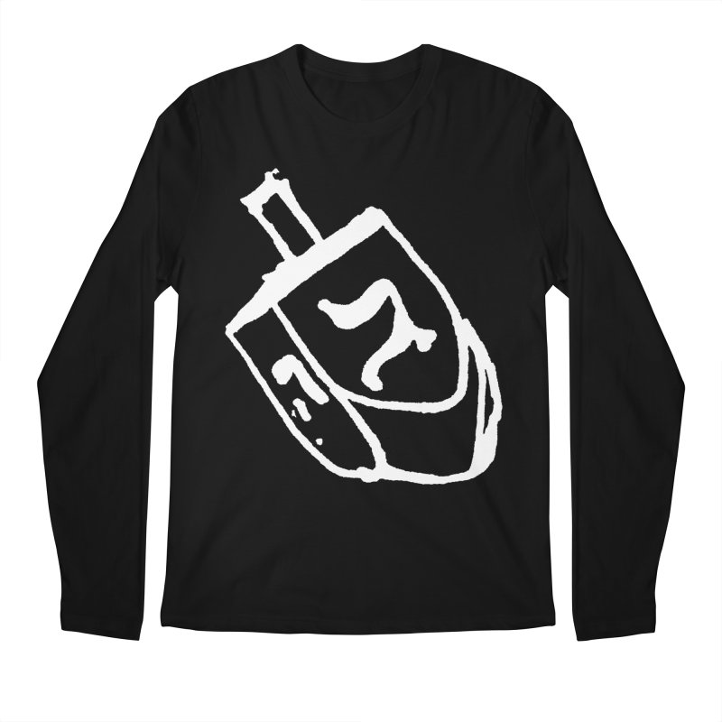 Dreidel Win Men's Regular Longsleeve T-Shirt by jackrabbithollow's Artist Shop