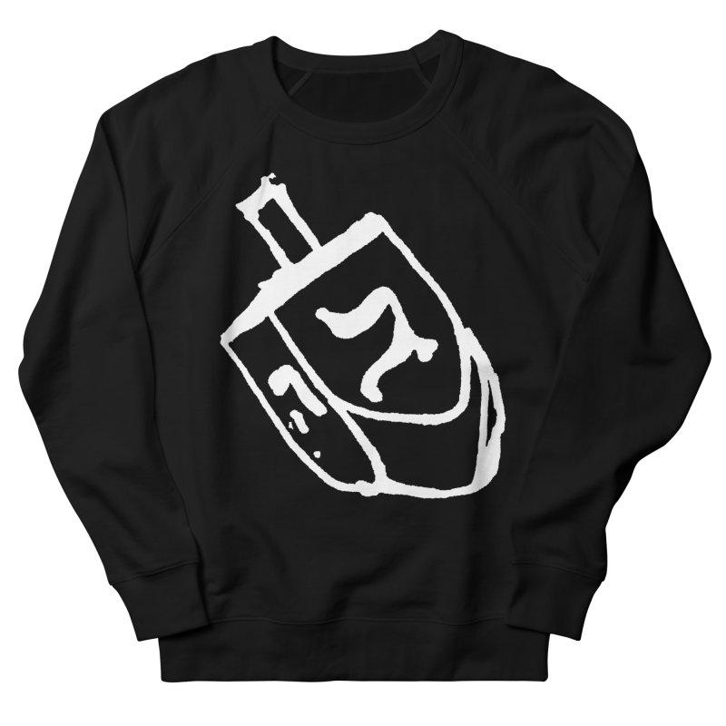 Dreidel Win Men's French Terry Sweatshirt by jackrabbithollow's Artist Shop
