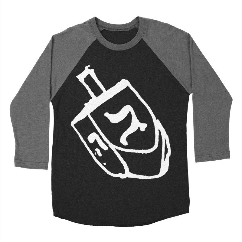Dreidel Win Women's Baseball Triblend Longsleeve T-Shirt by jackrabbithollow's Artist Shop