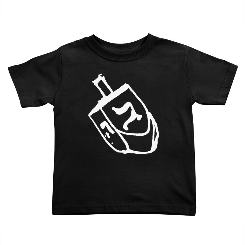 Dreidel Win Kids Toddler T-Shirt by jackrabbithollow's Artist Shop
