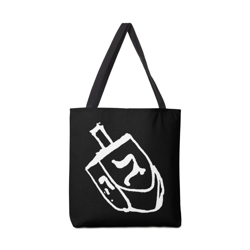 Dreidel Win Accessories Tote Bag Bag by jackrabbithollow's Artist Shop