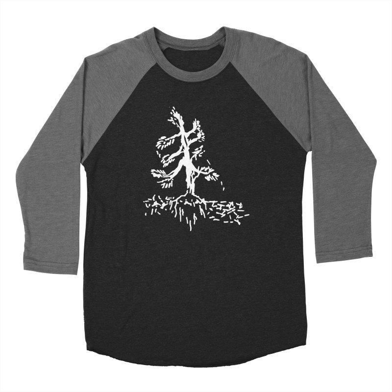 Pine Needle Women's Baseball Triblend Longsleeve T-Shirt by jackrabbithollow's Artist Shop