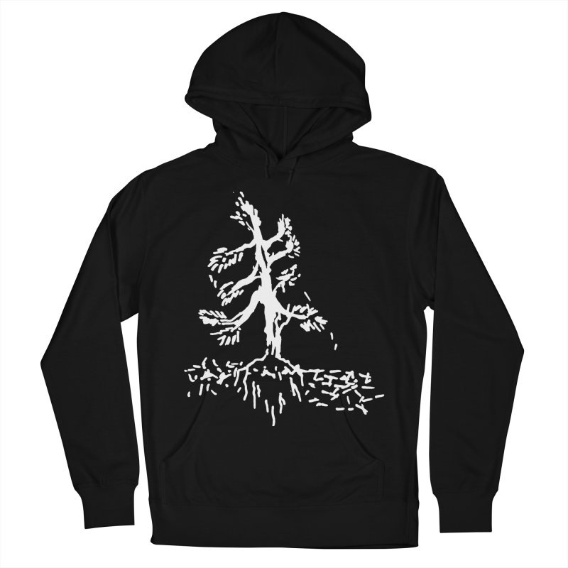 Pine Needle Men's French Terry Pullover Hoody by jackrabbithollow's Artist Shop