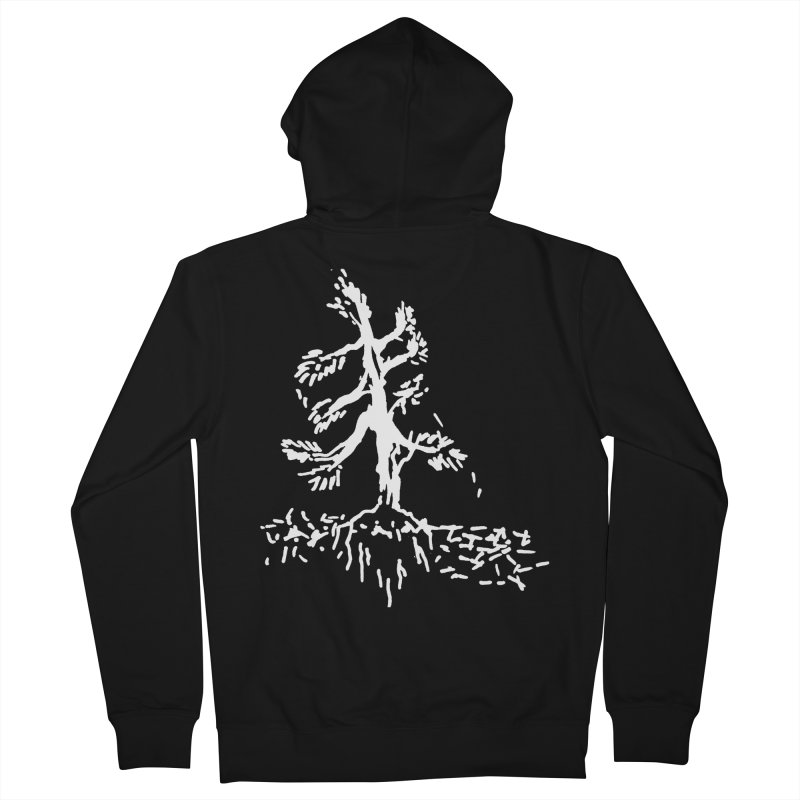 Pine Needle Women's French Terry Zip-Up Hoody by jackrabbithollow's Artist Shop
