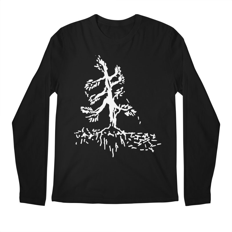 Pine Needle Men's Regular Longsleeve T-Shirt by jackrabbithollow's Artist Shop
