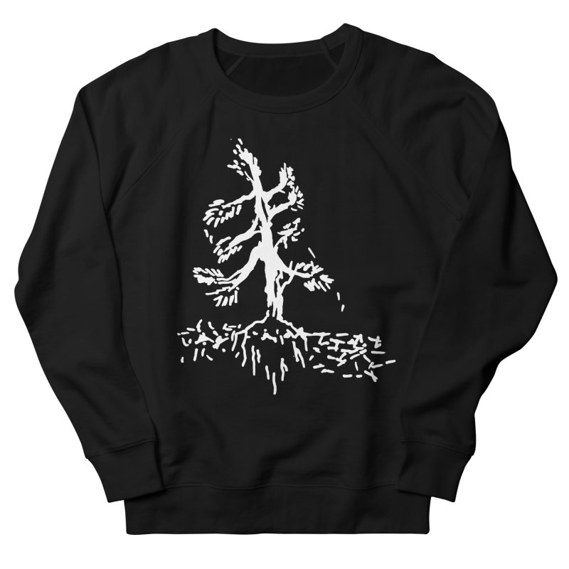 Pine Needle Men's French Terry Sweatshirt by jackrabbithollow's Artist Shop