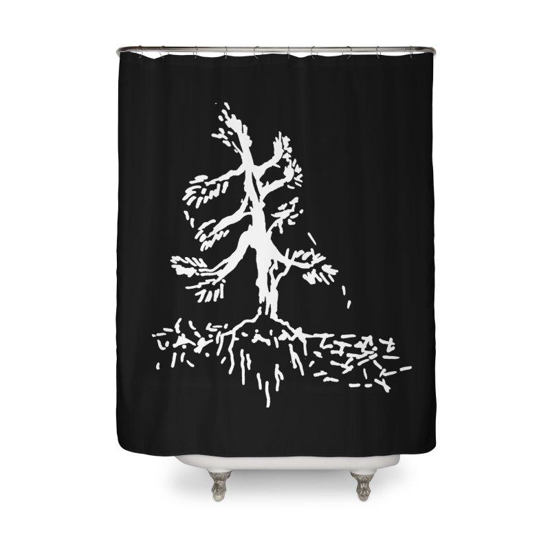Pine Needle Home Shower Curtain by jackrabbithollow's Artist Shop