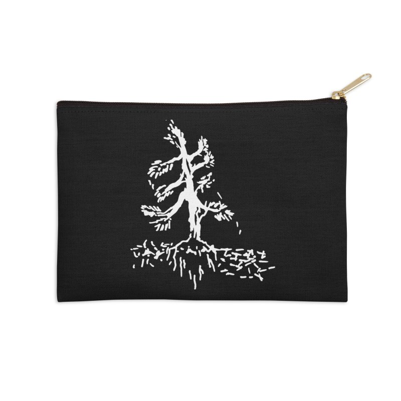 Pine Needle Accessories Zip Pouch by jackrabbithollow's Artist Shop