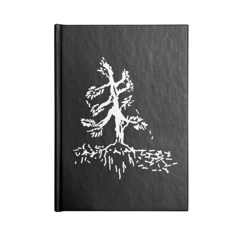 Pine Needle Accessories Lined Journal Notebook by jackrabbithollow's Artist Shop