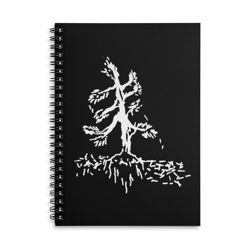 Pine Needle Accessories Lined Spiral Notebook by jackrabbithollow's Artist Shop