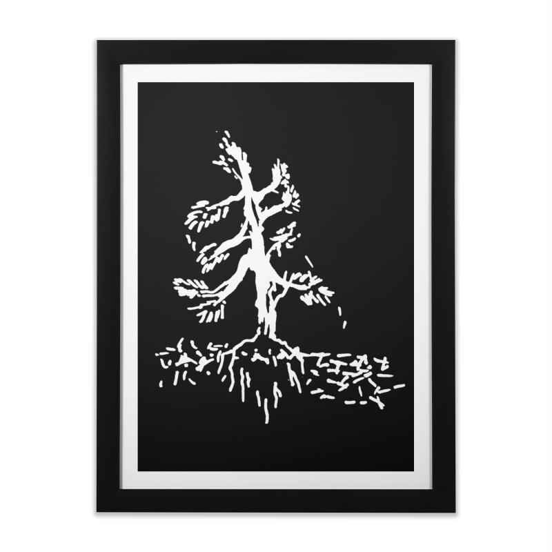 Pine Needle Home Framed Fine Art Print by jackrabbithollow's Artist Shop