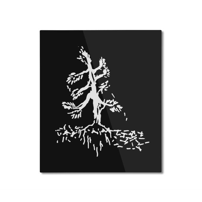 Pine Needle Home Mounted Aluminum Print by jackrabbithollow's Artist Shop