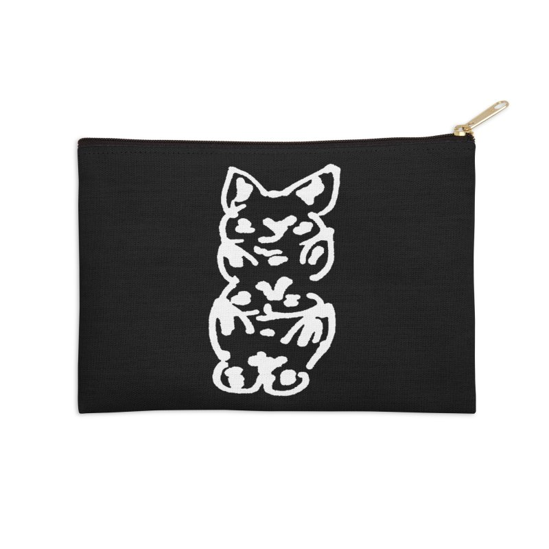 Cat Cats Accessories Zip Pouch by jackrabbithollow's Artist Shop