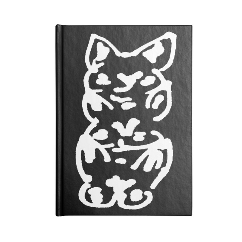 Cat Cats Accessories Notebook by jackrabbithollow's Artist Shop
