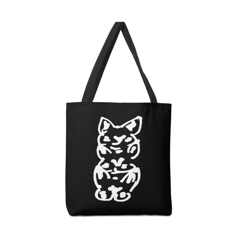 Cat Cats Accessories Tote Bag Bag by jackrabbithollow's Artist Shop