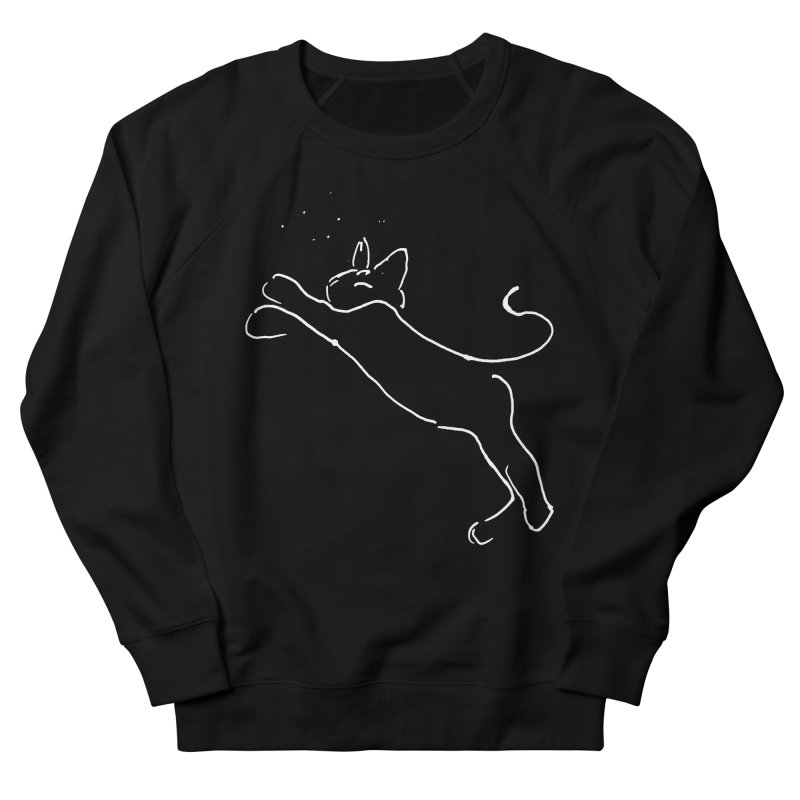 Cat Lounge Men's French Terry Sweatshirt by jackrabbithollow's Artist Shop