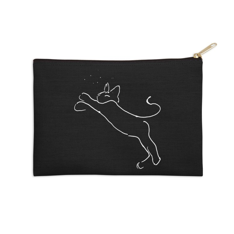 Cat Lounge Accessories Zip Pouch by jackrabbithollow's Artist Shop