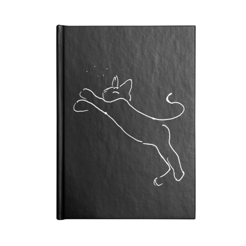 Cat Lounge Accessories Lined Journal Notebook by jackrabbithollow's Artist Shop