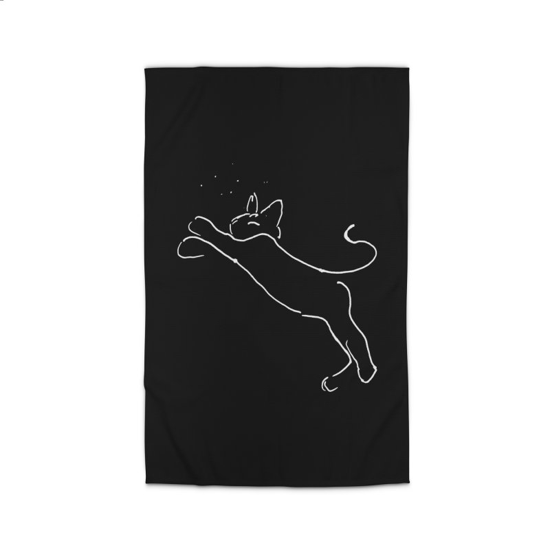 Cat Lounge Home Rug by jackrabbithollow's Artist Shop