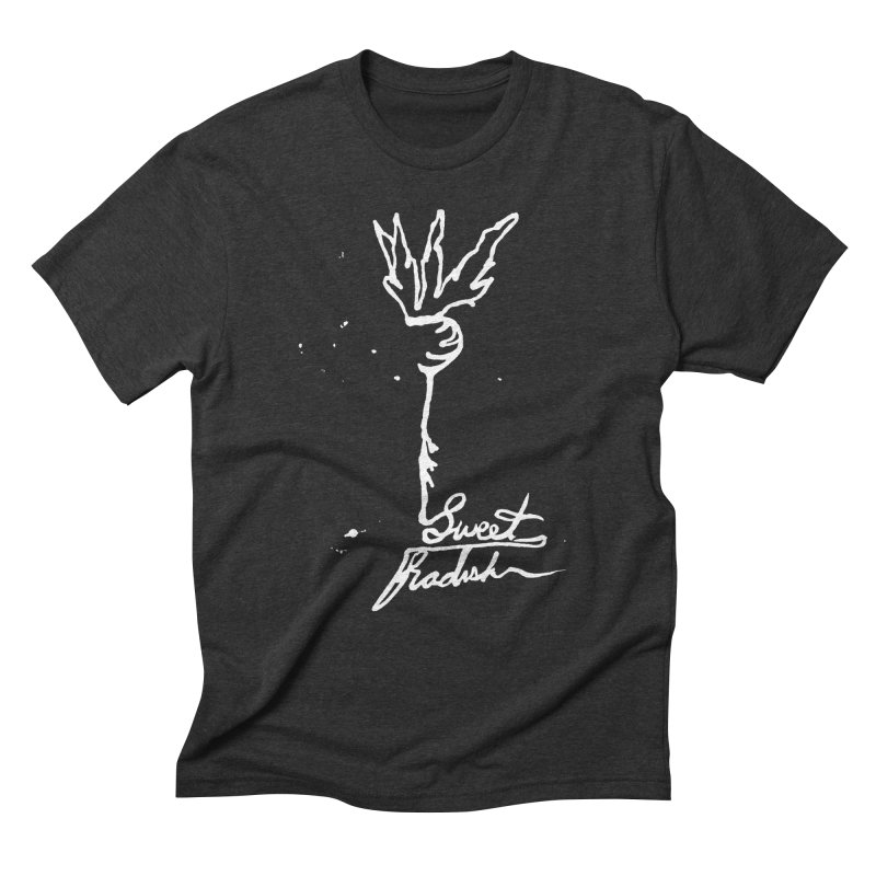 Single Line Sweet Radish Men's Triblend T-Shirt by jackrabbithollow's Artist Shop