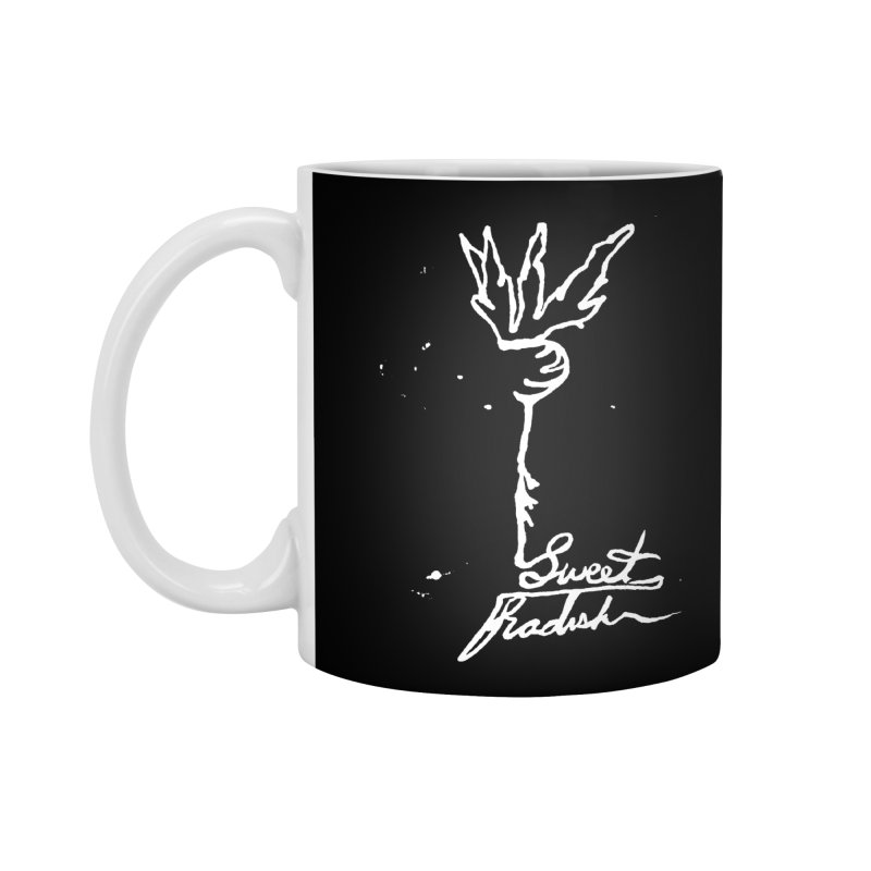 Single Line Sweet Radish Accessories Standard Mug by jackrabbithollow's Artist Shop