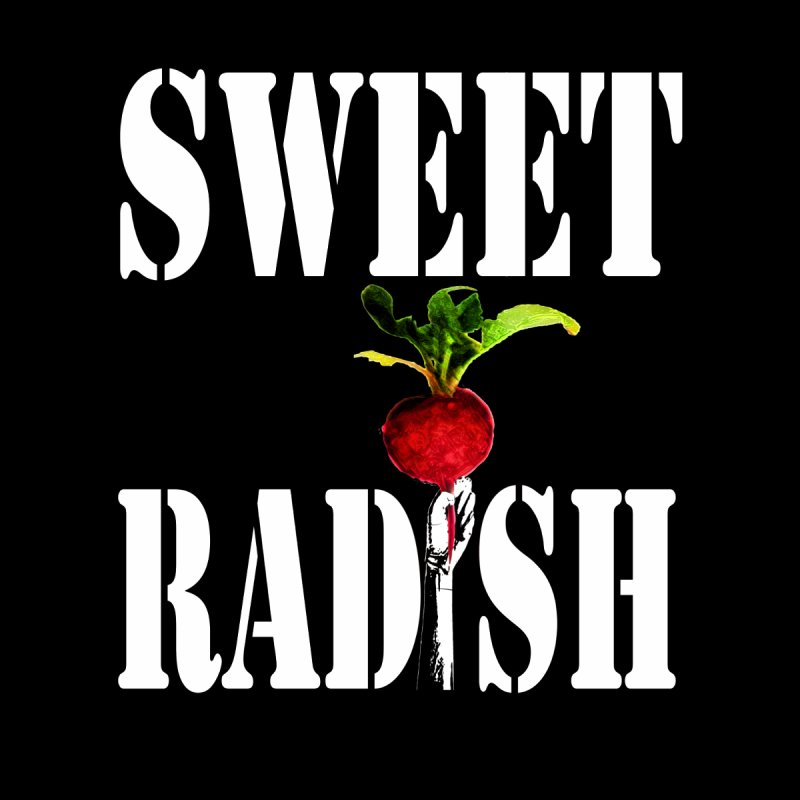 Sweet Radish Stencil Men's T-Shirt by jackrabbithollow's Artist Shop