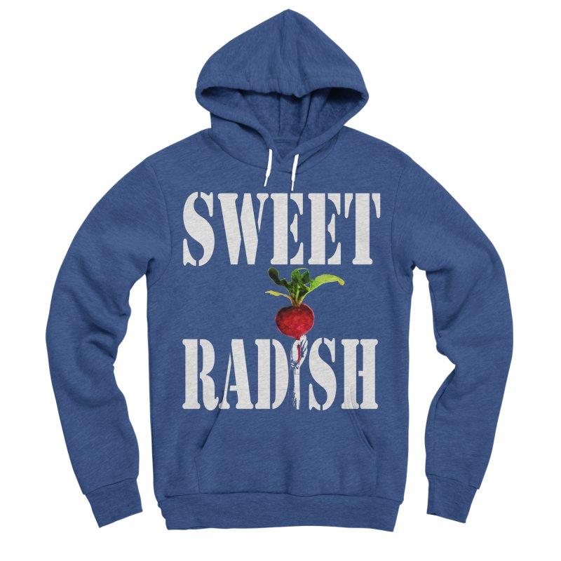 Sweet Radish Stencil Men's Sponge Fleece Pullover Hoody by jackrabbithollow's Artist Shop