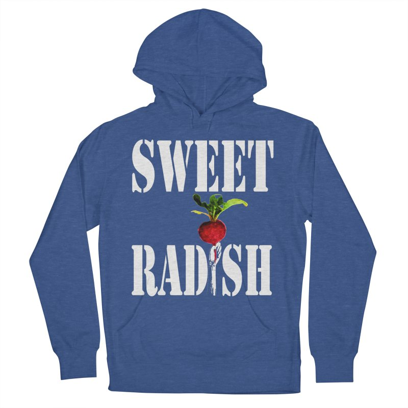Sweet Radish Stencil Men's French Terry Pullover Hoody by jackrabbithollow's Artist Shop