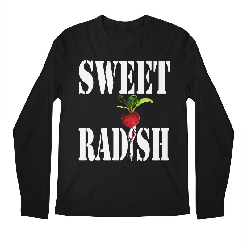 Sweet Radish Stencil Men's Regular Longsleeve T-Shirt by jackrabbithollow's Artist Shop
